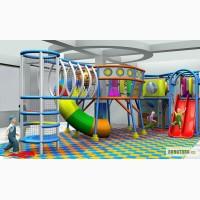 Детские лабиринты и игровые комнаты в ТРЦ