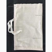 Мешочки для проб (15*20 см.) с завязкой (бязь суровая)
