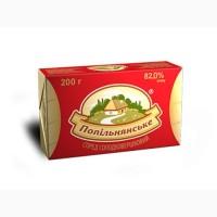 Спред сладкосливочный Попельнянский 82, 0% брикет 0, 2 кг