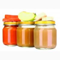 Пюре из фруктов и ягод в ассортименте