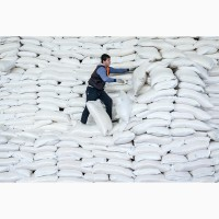 Сахар крупным оптом с юга, доставки жд вагонами