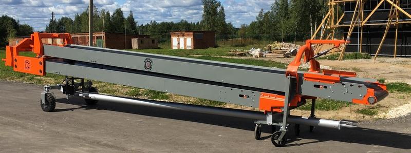 Транспортер с электроприводом где используются конвейеры