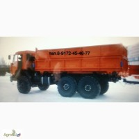 КАМАЗ 45143 самосвал на шасси вездеход КАМАЗ 43118