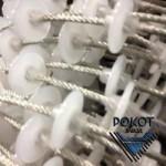 Производим тросшайбовые и цепьшайбовые кормораздатчики, комплектов клеточного оборудования