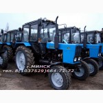 Продаем трактора Беларус МТЗ. Со стоянок и под заказ