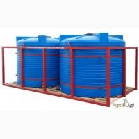 Кассета для перевозки воды, КАС (емкости в обрешетке)