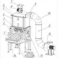 Охладитель (Охлаждение гранул) 1-2-3-5 т/ч