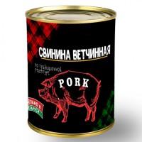Консервы мясные рубленые Свинина ветчинная 340 г