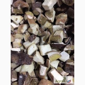 Продам грибы белые замороженные кубики