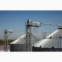 Силосы стальные для зернопродуктов