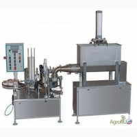 Фасовочное оборудование творога в стакан автомат фасовки АФ-1500Т