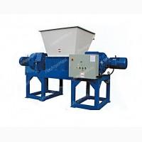 Шредер двухвальный для пластика, дерева, отходов ДШВ-1000 - от Производителя