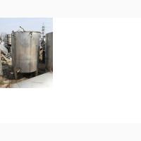 Емкости нержавеющие, объем - 1, 8 куб.м., вертикальные, рубашка, электрический нагрев