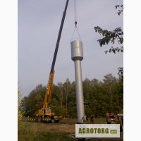 Водонапорные башни Рожновского, стальные резервуары для воды. Изготовление