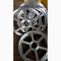 Изготавливаем колеса для ленточной пилорамы