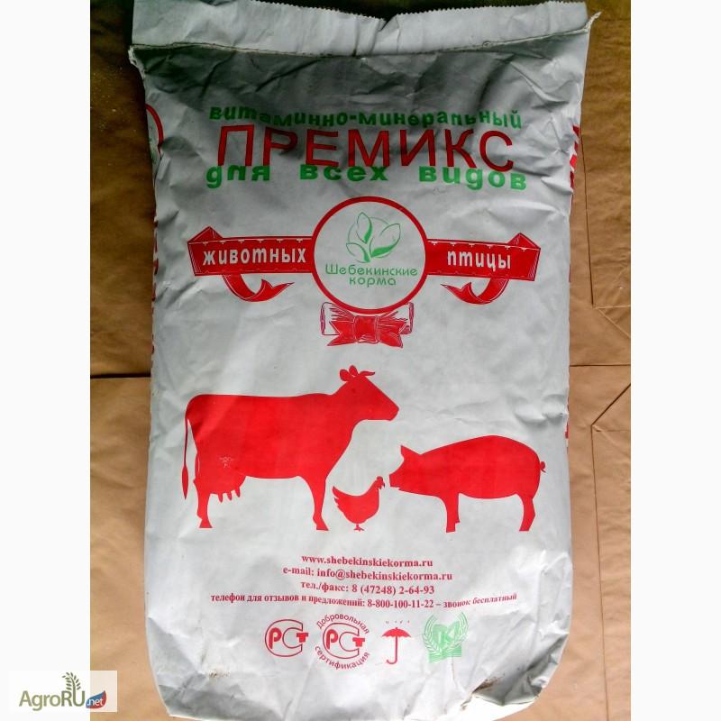 Комбикорм для быков