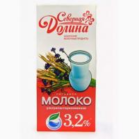Молоко 3.2 % ультрапастерезованное