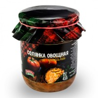 Консервы овощные Солянка с грибами ГОСТ 500 г