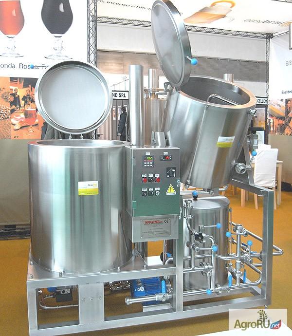 Фото к объявлению: мини пивоварни из Словении для бара и ресторана - AgroRU.net