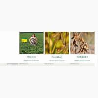Семена сои компании Саатбау