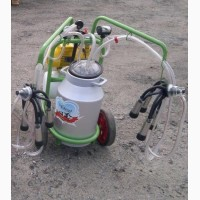 Доильный аппарат 2 пульсатора, 1 бидон 40л (Agrolead)