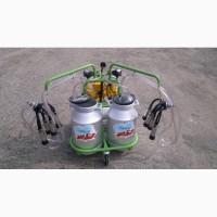 Доильный аппарат 2 пульсатора, 2 бидона по 30л (Agrolead)