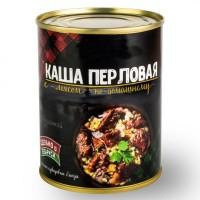 Консервы мясорастительные Каша перловая с говядиной по-домашнему 350 г