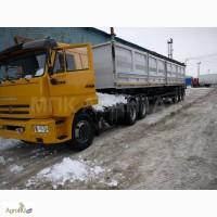 Камаз 65116 тягач с полуприцепом зерновоз самосвал новый