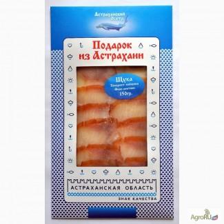 Щука холодного копчения филе-ломтики в Москве