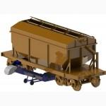 Конвейер ленточный в трубе низкопрофильный KLTN-40-4, 6 (разгрузчик вагонов)
