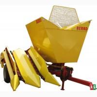 Початкоуборочный двухрядный кукурузный комбайн Берко-025