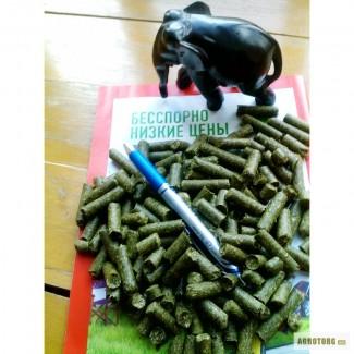 Травяная мука гранулированая