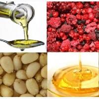 Орех кедровый, масло кедровое, ягода сушеная, мед