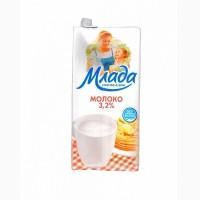 Молоко Млада 3.2% у/пастеризованное ТБА