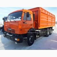 КАМАЗ 65115 зерновоз самосвал трехсторонник