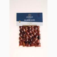 Оливки Каламон консервированные Греческого производителя - Latrovalis vac box 200 gr