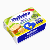 Масло сливочное Крестьянское 82, 5%, 180г, ТМ Любодар