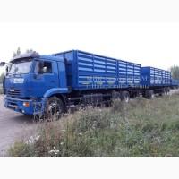 КАМАЗ 65117 самосвал зерновоз и прицеп зерновоз новый