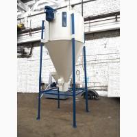 Смеситель вертикальный шнековый замес от 300 до 2500 кг