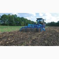 Услуги по обработке земли (вспашка земли, дискование)