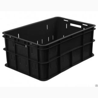 Ящик пластиковый колбасный 600х400х260