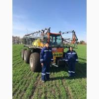 Услуги опрыскивания озимой пшеницы