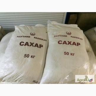 Сахар в мешках в Ташкенте, Узбекистан