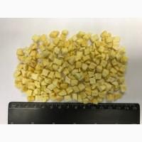 Яблоки сушеные кубик 10х10мм