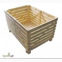 Деревянный контейнер, ящик для овощей