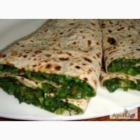 Продаем армянские лаваши с зеленью
