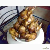 Копченая перепелиная тушка (фермерское мясо)