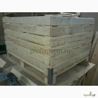 Деревянный контейнер, ящик для фруктов