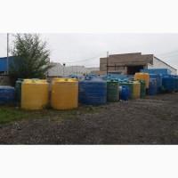 Емкости пластиковые пищевые, химостойкие 2-10 м3