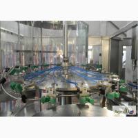Линия розлива растительного масла производительностью 5 тонн в течение 8 часов